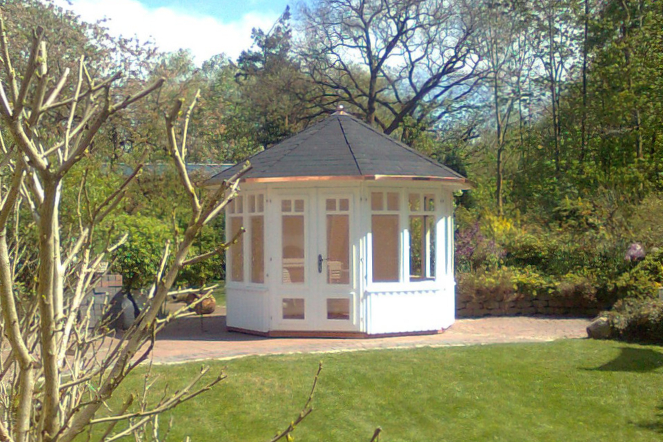 Gartenpavillon   Gey aus Holz zum Wohlfühlen vom Hersteller