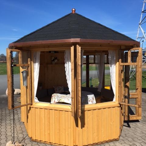 gartenpavillon gey aus holz zum wohlf hlen vom hersteller details. Black Bedroom Furniture Sets. Home Design Ideas