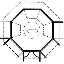 Pavillon Typ Mallorca