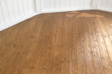 Pavillon Fußboden