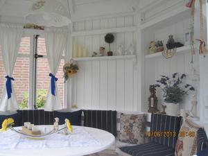 Gartenhaus Innen